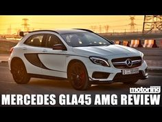 Mercedes GLA45 AMG review - best non-SUV SUV hot hatch thingy! - YouTube