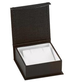 Black Contemporary Collection Earring Box- ST61-1021:100000:T
