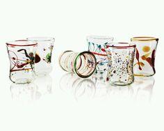 Hand-blown Venetian Glassware #uncommongoods