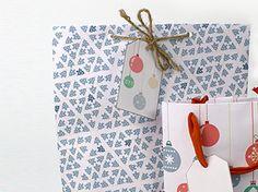 Cómo hacer bolsas para tus regalos Mercado de Navidad - - DaWanda