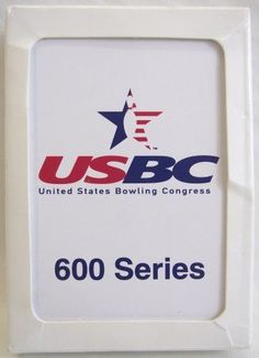 USBC Playing Cards United States Bowling Congress Series 600 USA #Apollo