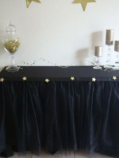 Academy Award Hollywood Table Tutu with Glitter by BaileyHadaParty, $55.00