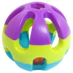 Water  Wood Multi Color Plastic Hollow Ball Jingle Bell Pet Dog Play Toy >>> You can find out more details at the link of the image. (Note:Amazon affiliate link)