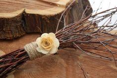 Rustic Birch Twig Bouquet FREE SHIPPING. $24.00, via Etsy.