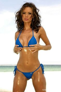 Would like Exotic crissy moran string bikini consider