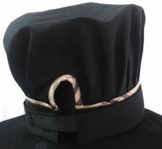 #cappello #chef con chiusura in velcro e perfilo coordinato al mod. BRB #CHEF #Chef #Style #divisa #cucina #cuoco  #settore #ristorazione