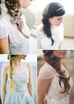 Acconciatura: #treccia bohemien per la #sposa