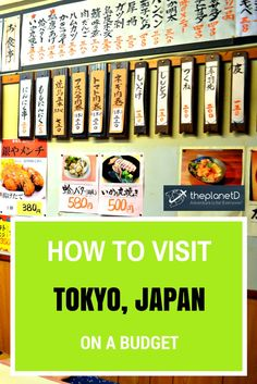 How to visit Japan on a budget