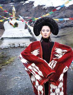La mode tibétaine en 2016