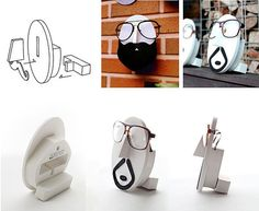 Eyewear Holder 14 Types / Eyeglasses Holder / by DubuDumo on Etsy