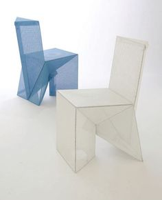 Very Neat Origami Chair - http://www.ikuzoorigami.com/very-neat-origami-chair/