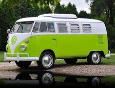 1967 Volkswagen Westfalia Camper Bus I. Want. It.