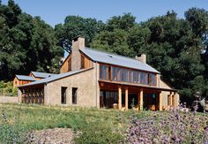 From an ecological perspective, pneumatically impacted stabilized earth (PISE) is a nearly perfect building material. A new house, halfway between Carmel and Big Sur, near California's central coast, showcases PISE's residential potential.