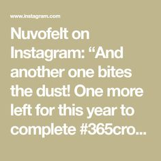"""Nuvofelt on Instagram: """"And another one bites the dust! One more left for this year to complete #365crochetsquares2019 but still some days to go in 2019.…"""""""