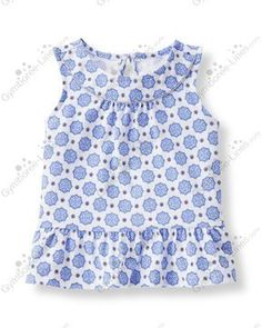 Janie and Jack Riviera Vacation Line (Girl - Kid) - Gymboree Lines