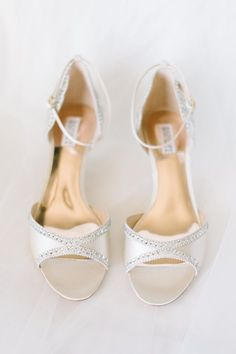 Featured Photographer: Aaron and Jillian Photography; wedding shoes idea