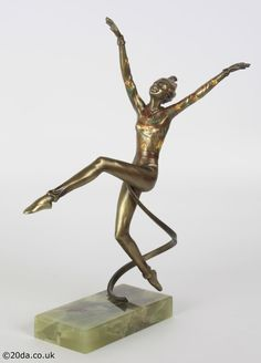 Josef Lorenzl - Art Deco bronze figure, Austria circa 1930