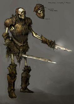 Skeletal Knight from Rift