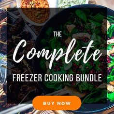 The Ultimate Whole30 Slow Cooker Freezer Meal Plan