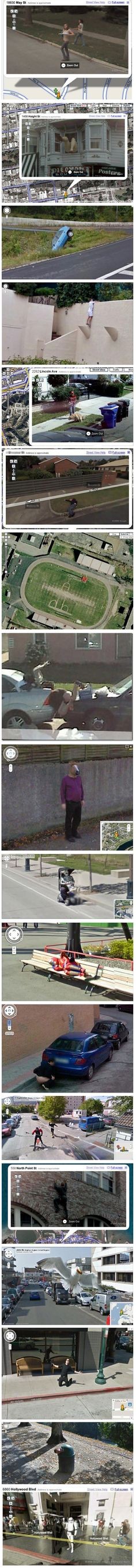 Some Strange Things Have Been Found In Google MapsAnd Here Are - 29 weird and unexpected things you can find on google street view