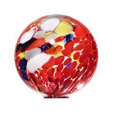 Garden Globes, Garden Balls, Contemporary Garden, Garden Ornaments, Glass Globe, Glass Ball, Hand Blown Glass, Amazon, Red