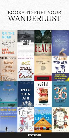 If you suffer from acute wanderlust, and you're constantly trying to find ways to fit another trip into your schedule, then you might be addicted to traveling. Here are 18 books, both fiction and nonfiction, that will get you in the mood to jet off to ano Fiction And Nonfiction, Non Fiction, Fiction Books, Up Book, Book Nerd, Reading Lists, Book Lists, Lectures, Reading Material