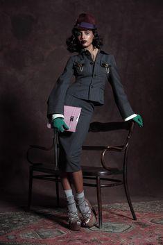 Dsquared2 Pre-Fall 2013 Fashion Show - Jasmine Tookes