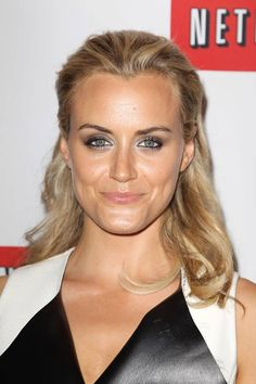 Taylor Schilling (Piper) at the Netflix Presents 'Orange is the New Black' premiere in NYC. #OITNB