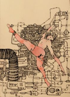 You got wires coming out of your skin  #wires #cyborg #aerial #mechanic