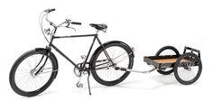 Fahrrad-Lastenanhänger 'Hinterher' made in München... via Designchen