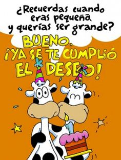 tarjetas de cumpeanos chistosas - Google Search 50th Birthday Wishes, Happy Birthday Quotes, Birthday Greeting Cards, Birthday Greetings, Happy Birthday Beautiful, Happy B Day, Inspirational Message, Inspiring Messages, E Cards
