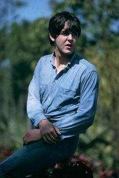 Paul McCartney of Help! 1965.