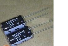 25 1000 authentic new aluminum electrolytic capacitor specification: 10 * 17 Electrolytic Capacitor, Cheap Computers, Mini