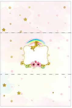 Birthday Candy, Unicorn Birthday Parties, 3rd Birthday, Unicorn Printables, Party Printables, Bar A Bonbon, Candy Bar Labels, Paper Gift Box, Little Pony