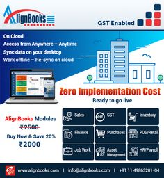 AlignBooks Works Both Types of Online & offline For all type of business ✅ Healthcare ✅ FMCG ✅ Automobile ✅ Warehouse ✅ Jewelry ✅ Electronic Appliances ✅ Import/Export Trading ✅ Textile & Apparel Book Your Demo @ toll-free Online Accounting Software, Small Business Accounting Software, Online Bookkeeping, Bookkeeping Software, Export Business, Finance, Management, Retail, Electronic Appliances