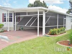 There is a wide range of applications for the Lifestyle garage screen. It is possible to convert a CARPORT into a screened enclosure with a fully accessible entrance. Think of all the carports out … Carport Patio, Carport Kits, Carport Plans, Carport Garage, Garage Plans, Carport Ideas, Pergola Ideas, Pergola Kits, Garage Doors