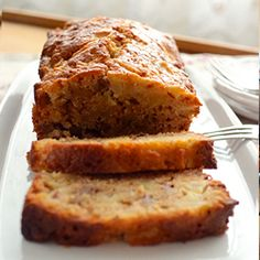 Shortcut Amish Friendship Bread (no starter) - so quick and easy, great for breakfast or dessert