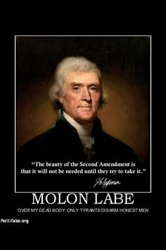 Molon  labe  come and take them!!!