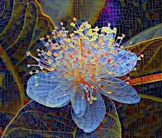 Mosaic Garden Art, Mosaic Tile Art, Mosaic Artwork, Mosaic Crafts, Mosaic Projects, Mosaic Pots, Mosaic Designs, Mosaic Patterns, Mosaic Flowers