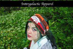 Hippie Headband, Festival Clothing, Headband, Dreadband, Dread Wrap, Dreadlocks, Intergalactic Apparel by IntergalacticApparel on Etsy