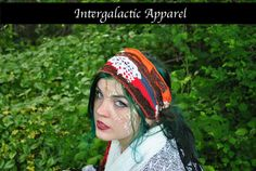 Hippie Headband, Festival Clothing, Headband, Dreadband, Dread Wrap, Dreadlocks, Intergalactic Apparel by IntergalacticApparel on Etsy
