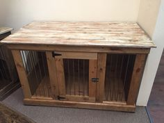 KennelandCrate custom dog kennels!  Perfect accent piece of furniture! Follow us on Instagram or FB at KennelandCrate.  Email: kennelandcrate@yahoo.com
