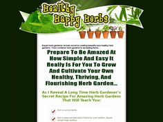Try Healthy Happy Herbs: A Beginners Guide To Herbs And Herb Gardening Now- http://www.vnulab.be/lab-review/healthy-happy-herbs-a-beginners-guide-to-herbs-and-herb-gardening-2