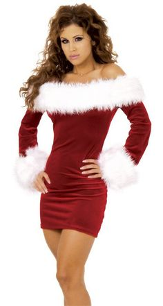 Sexy Christmas Dress Women Adult Red Long-sleeve Strapless Party Dress Christmas Festival Clothes Off Shoulder Plus Size XXL-M Sexy Christmas Outfit, Xmas Party Outfits, Christmas Dress Women, Christmas Fancy Dress, Christmas Lingerie, Red Christmas, Womens Christmas, Christmas Dance, Christmas Clothes