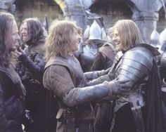 "David Wenham in ""Lord of the Rings: The Two Towers"" Lotr Movies, The Hobbit Movies, Fellowship Of The Ring, Lord Of The Rings, The Ring Series, Sean Bean, J. R. R. Tolkien, Aragorn, Gandalf"