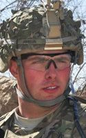 Army 1st Lt. David A. Johnson  Died January 25, 2012 Serving During Operation Enduring Freedom  24, of Horicon, Wis.; assigned to 5th Battalion, 20th Infantry Regimentt, 3rd Stryker Brigade Combat Team, 2nd Infantry Division, Joint Base Lewis-McChord, Wash.;� died Jan. 25 in Kandahar province, Afghanistan, of injuries caused by an improvised explosive device while conducting a dismounted patrol.