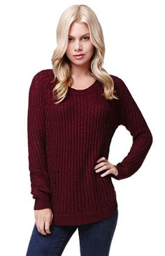 LA Hearts Long Sleeve Shirttail Hem Pullover Sweater #pacsun Fashion Outfits, Womens Fashion, Fashion Trends, Striped Tee, Pacsun, My Wardrobe, Pullover Sweaters, Autumn Fashion, Cute Outfits