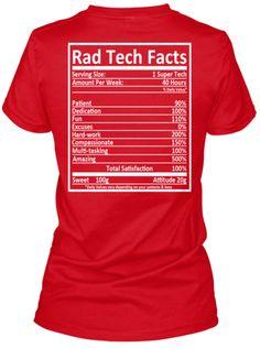 Rad Tech Facts!