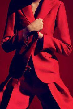 Vogue Germany - February 2015 by Camilla Akrans
