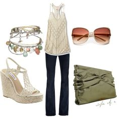 Summer Cute, love the shoes